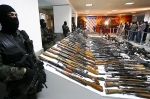 Weapons seized from Mexican cartels last November