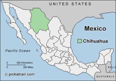 chihuahua-map