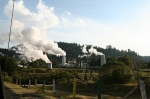 Geothermal plant in Mexico