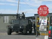 Military Checkpoint in Juarez