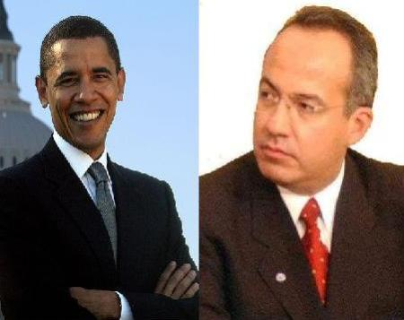 Barack and Felipe