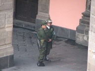 Mexican Military Police Photo by Flickr user ilya ginzburg find link to picture