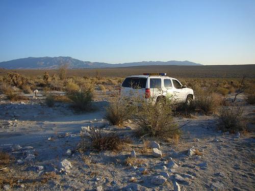 Border patrol agent by Flickr user °Florian