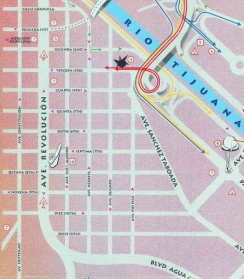 Map_Downtown_Tijuana_Northern_Baja_California_Mexico