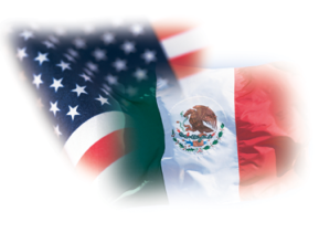 mexico-usa-flag-montage