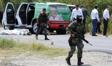 APTOPIX Mexico Election Violence