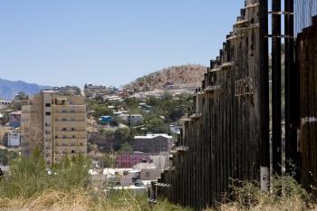 Border Fence Arizona and Mexico