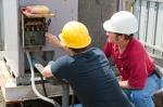 technicians making repairs - industry job training