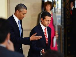 President Obama visits Mexico President Enrique Pena Nieto