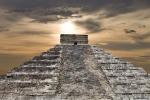 Ancient Mayan pyramid, Kukulcan