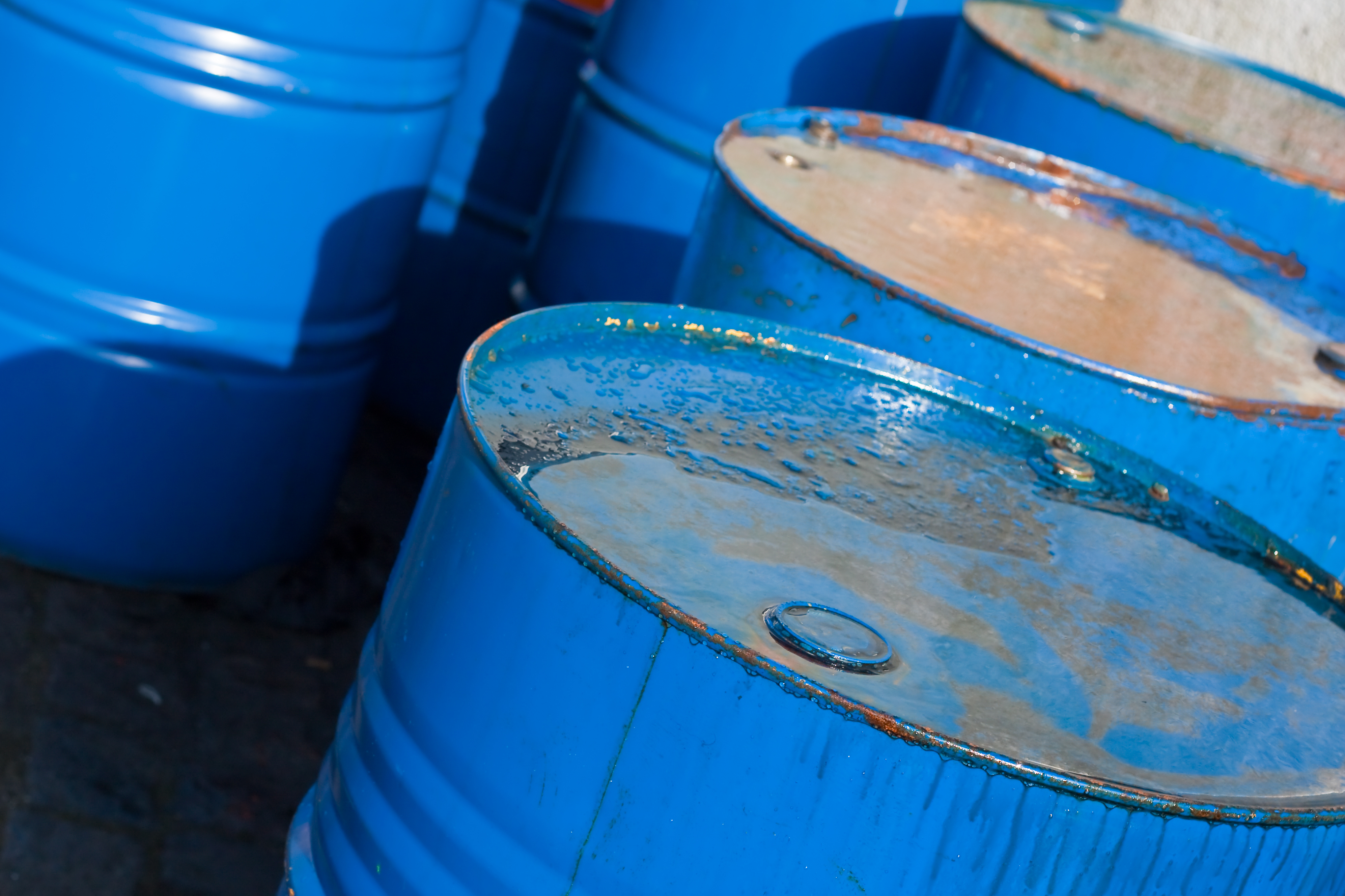 energy - oil barrels