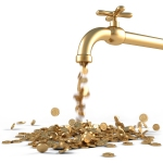 faucet gold coin