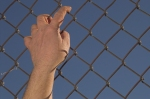 hand over fence