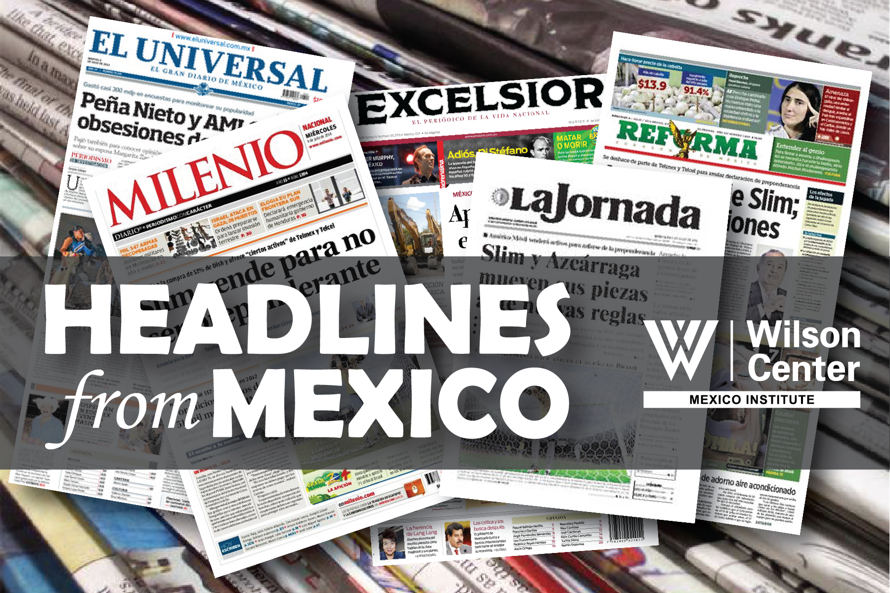 Headlines from Mexico