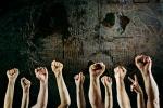 protest -- stroke -- resistance