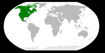 north america world