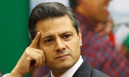 A US cable claimed Televisa gave the Mexico State governor Enrique Peña Nieto wide coverage
