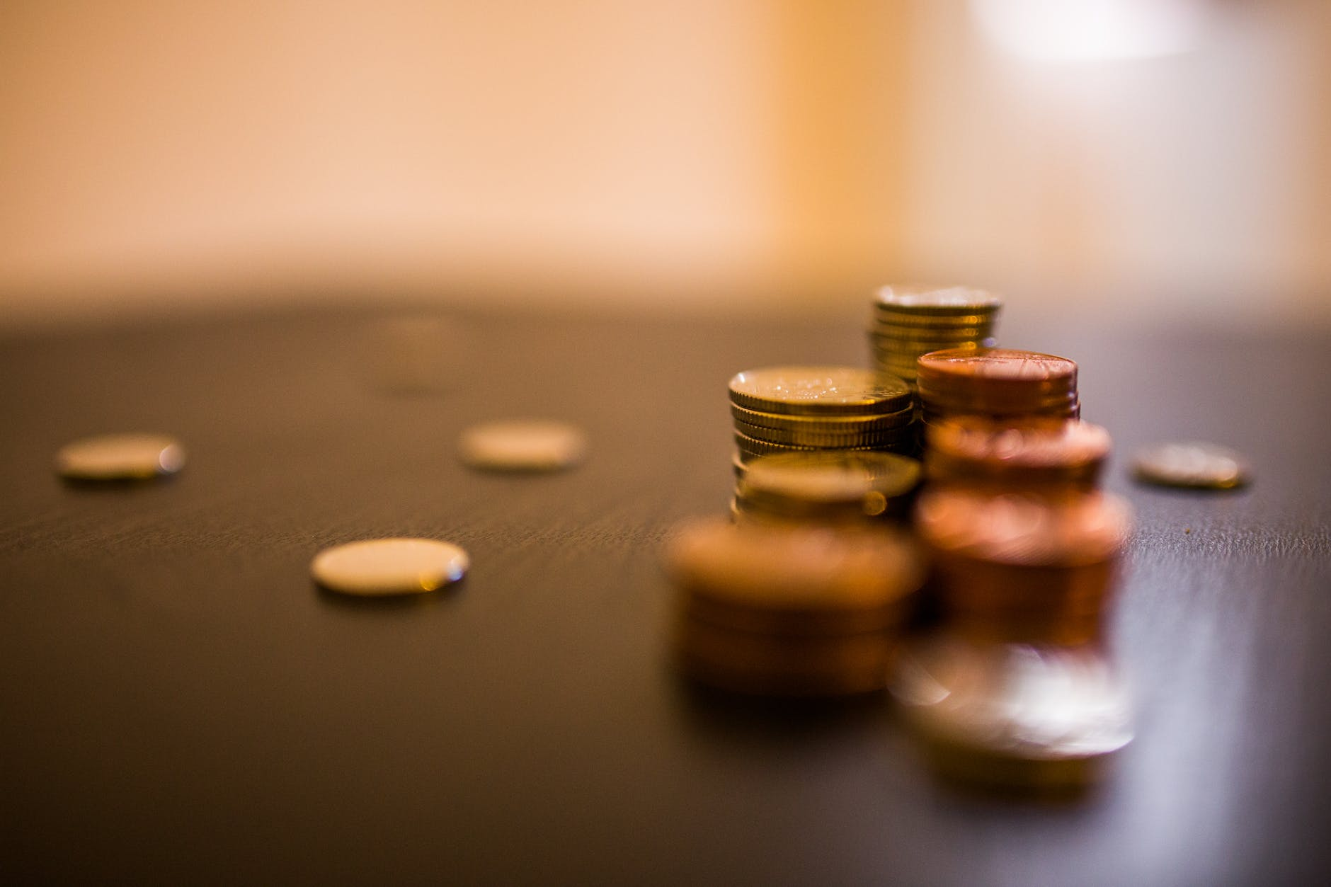 working business money coins
