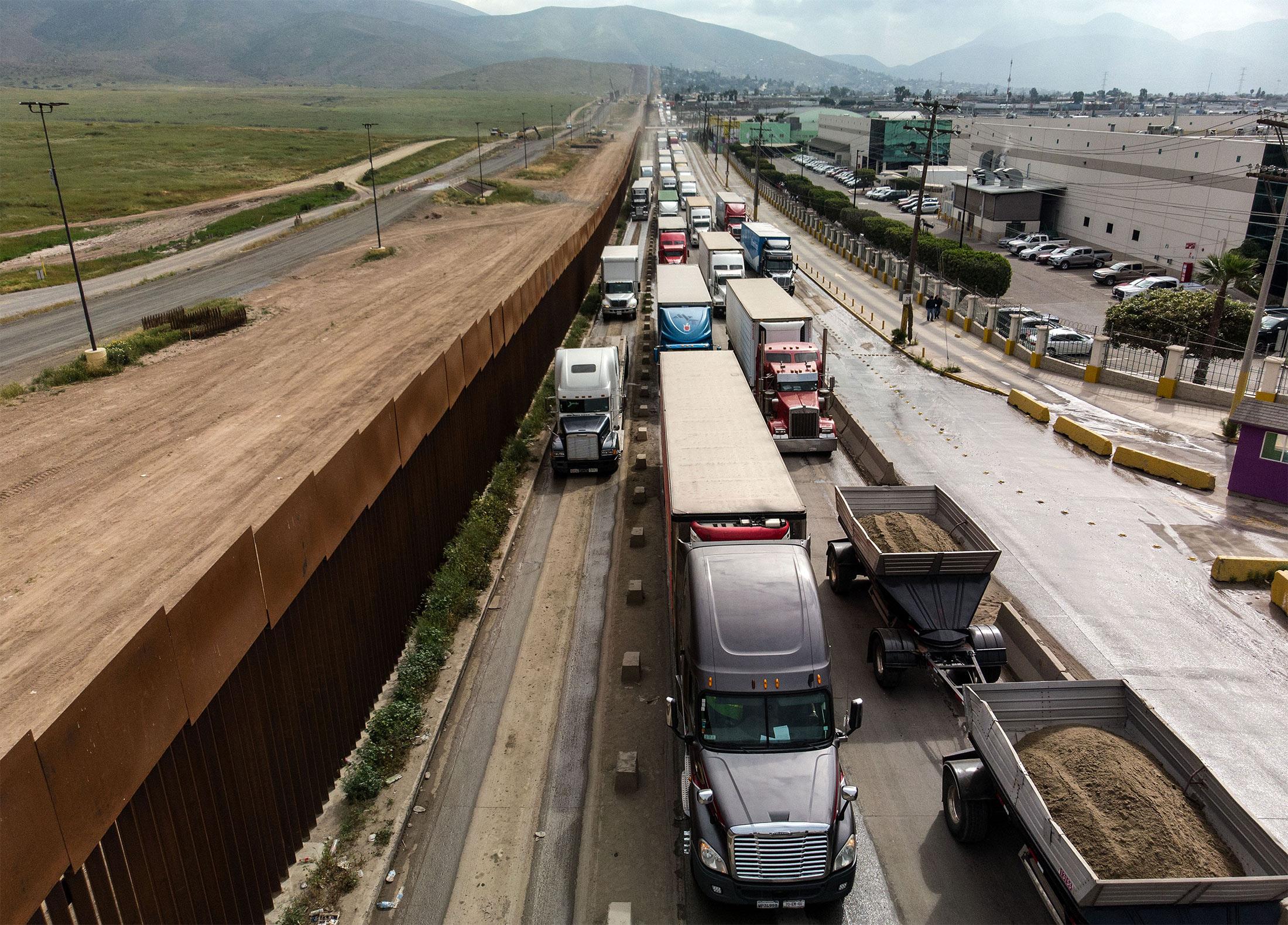 MEXICO-US-BORDER-TRADE